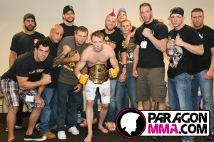 Paragon MMA Team Picture